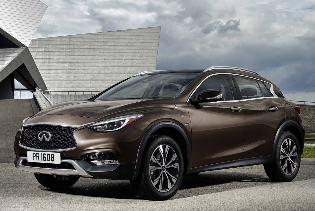 2016 Infiniti QX30 Priced at £29,490 in the United Kingdom ...