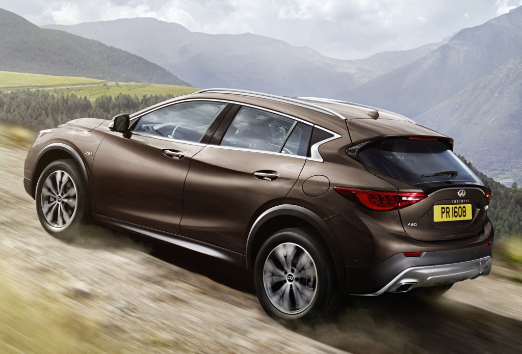 Infiniti Qx Priced At In The United Kingdom