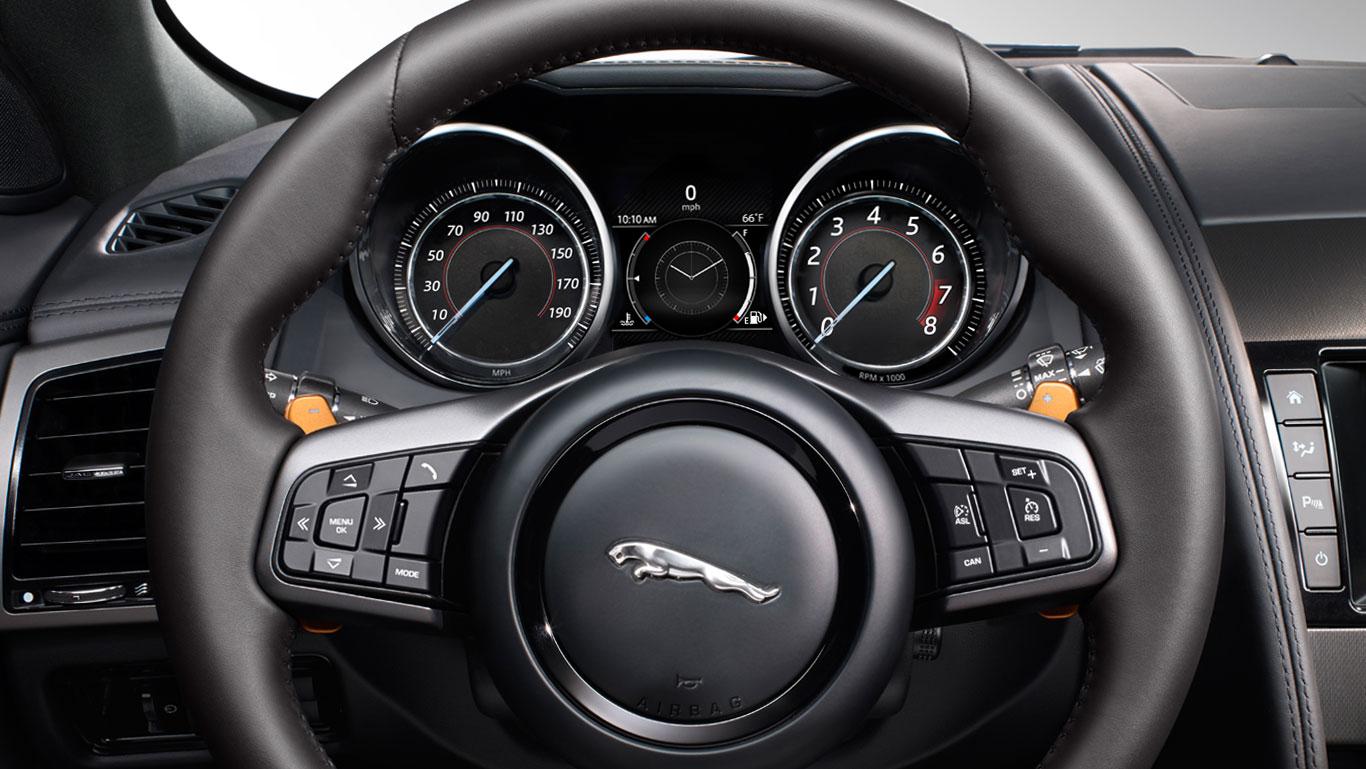 Jaguar F Type Interior Design Features Jaguar Usa All New Car
