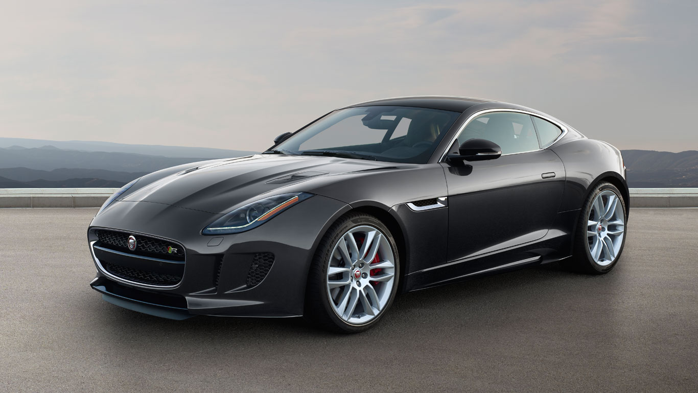 f-type jaguar luxury car