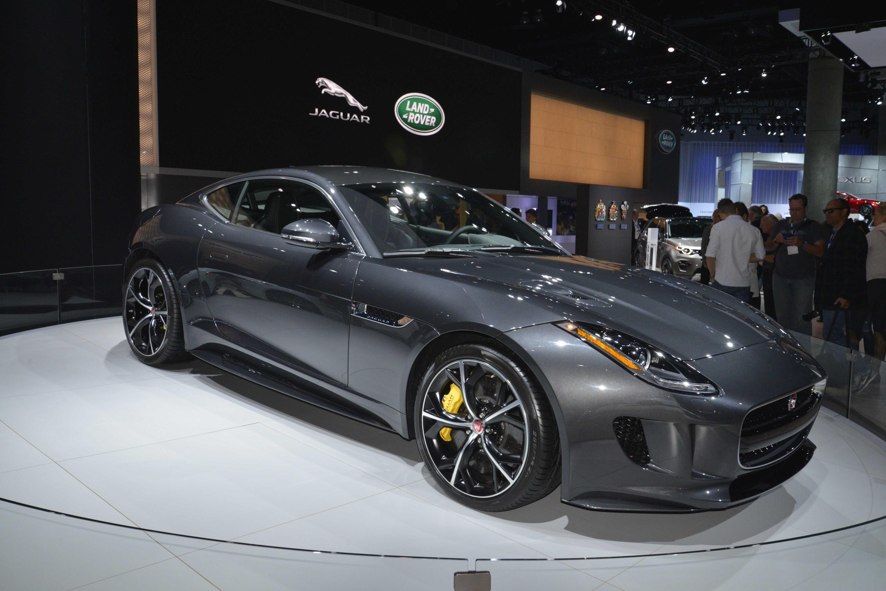 Jaguar F Type Debuts In La With Awd And Manual Gearbox Video Photo Gallery on Jaguar S Type V6 Engine