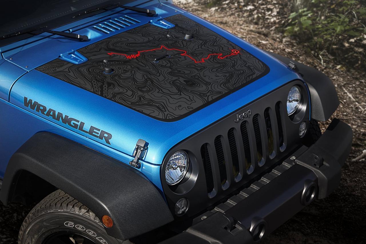 2016 jeep wrangler embraces black bear edition, it just got more