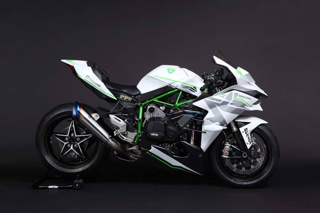 2016 Kawasaki Ninja H2R in White Livery Is the Queen of ...