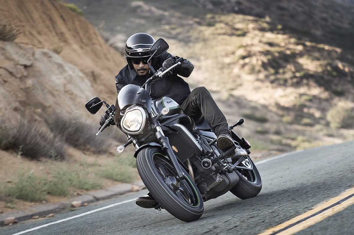 2016 Kawasaki Vulcan S Cafe Shows Room For More