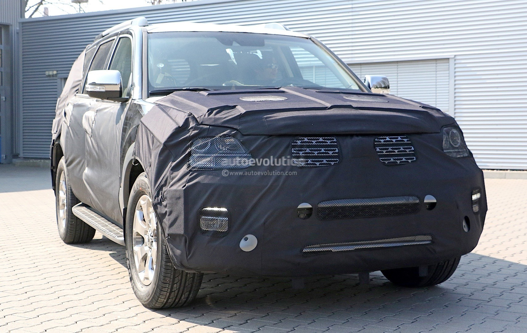 2016 Kia Mohave Facelift Spied Won T Come To The U S As