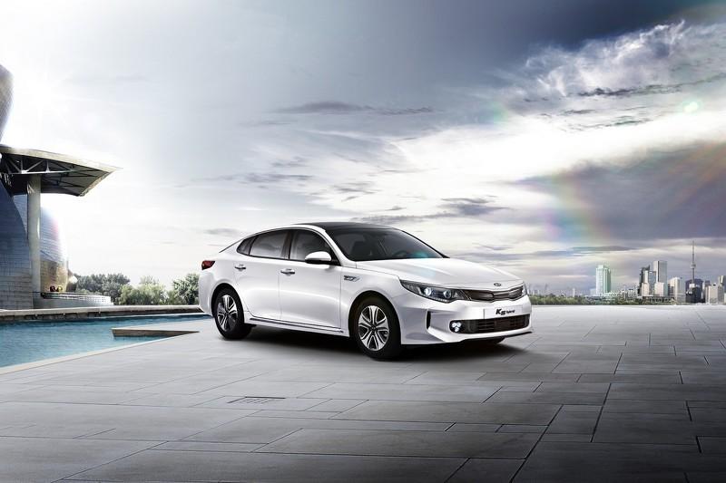 2016 kia optima sports hybrid sedan debuts in korea autoevolution. Black Bedroom Furniture Sets. Home Design Ideas