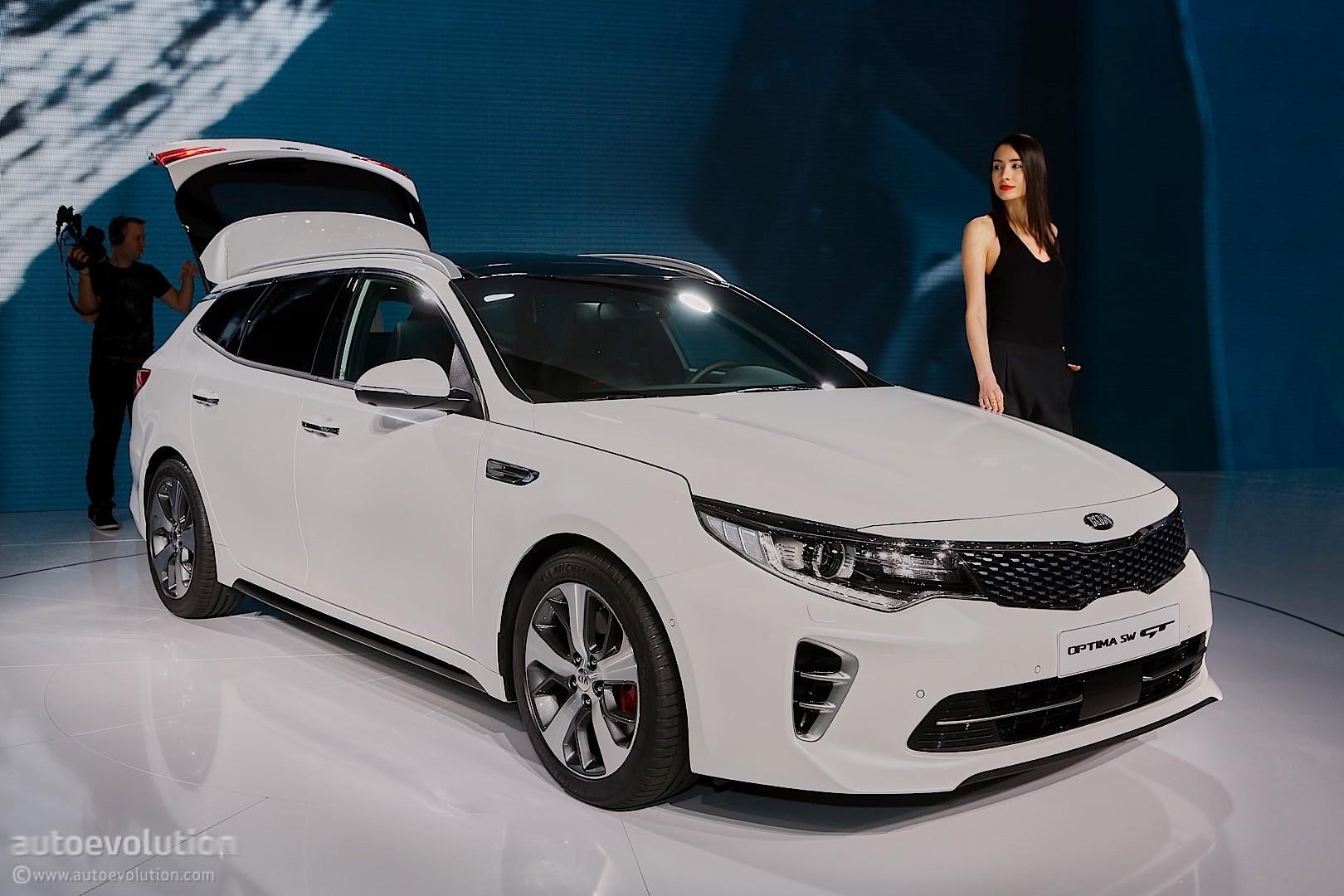 2016 Kia Optima Sportswagon Lands in Geneva - autoevolution