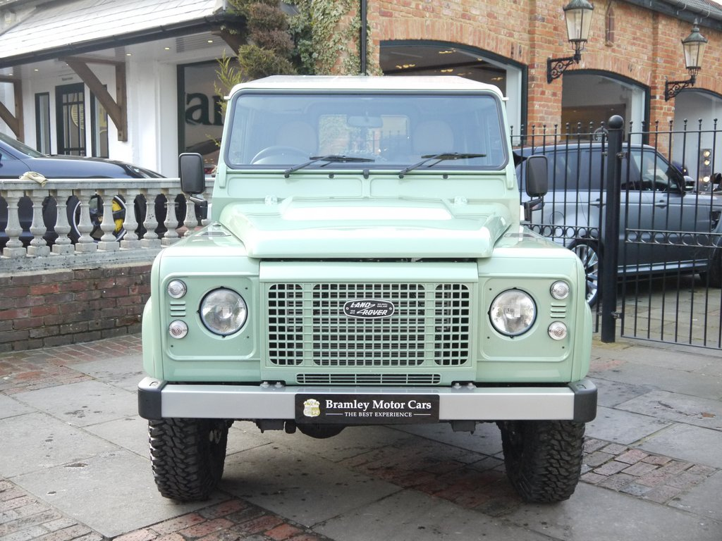 2016 Land Rover Defender 90 Heritage Edition Up for Sale