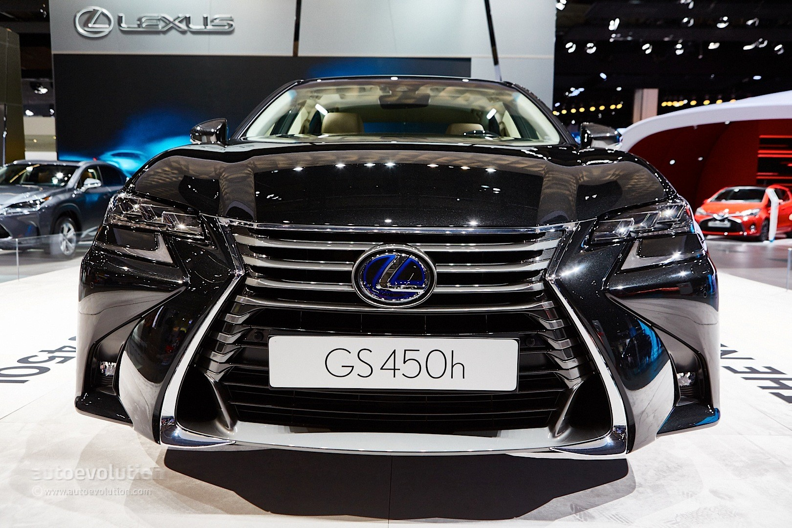 2016 lexus gs 450h facelift debuts with spindle grille 2 0 in frankfurt autoevolution. Black Bedroom Furniture Sets. Home Design Ideas