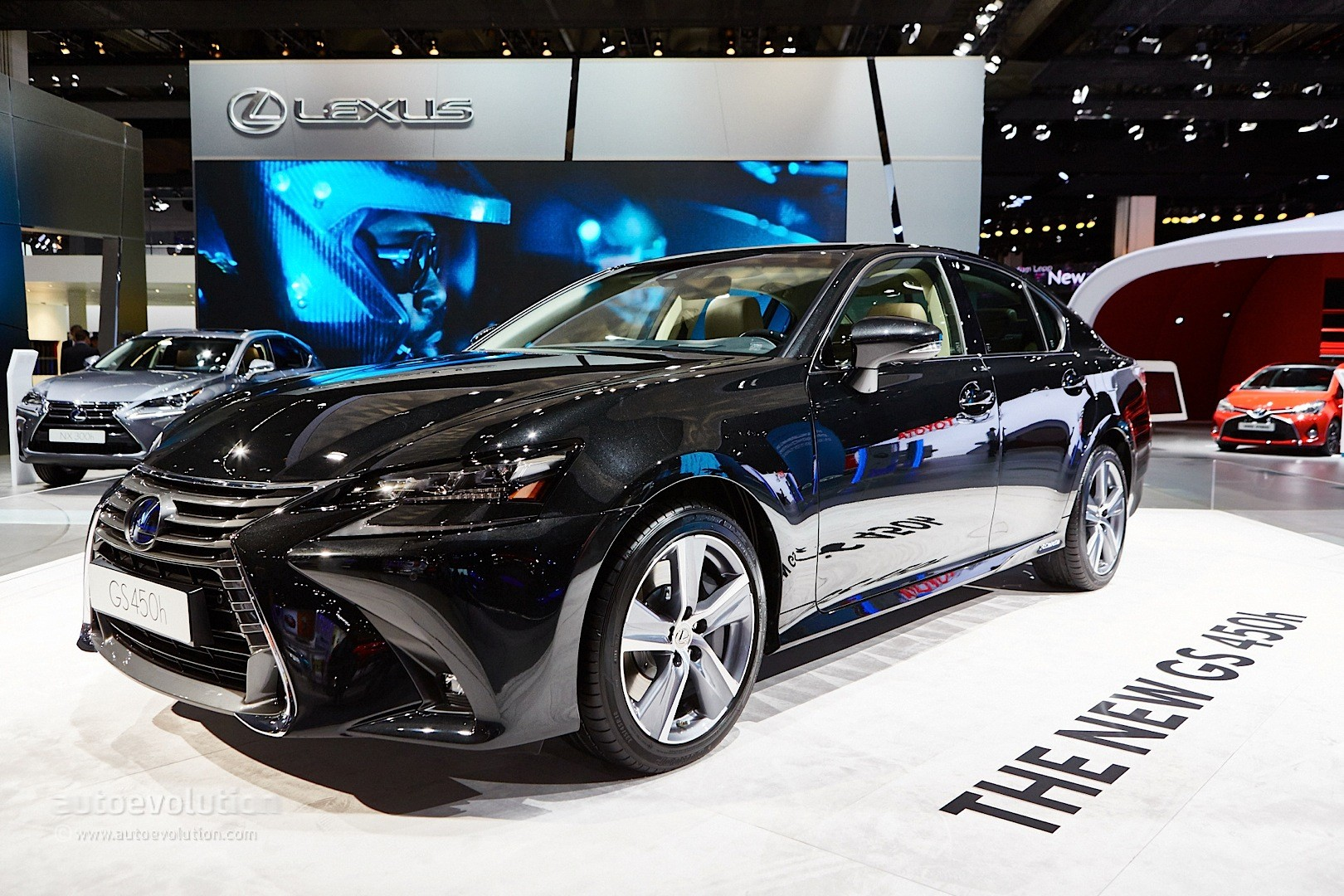 2016 Lexus GS 450h Facelift Debuts with Spindle Grille 2.0 ...