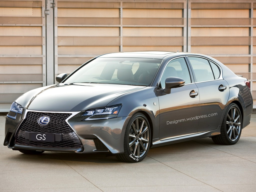 2016 lexus gs facelift rendered with new led headlights autoevolution. Black Bedroom Furniture Sets. Home Design Ideas