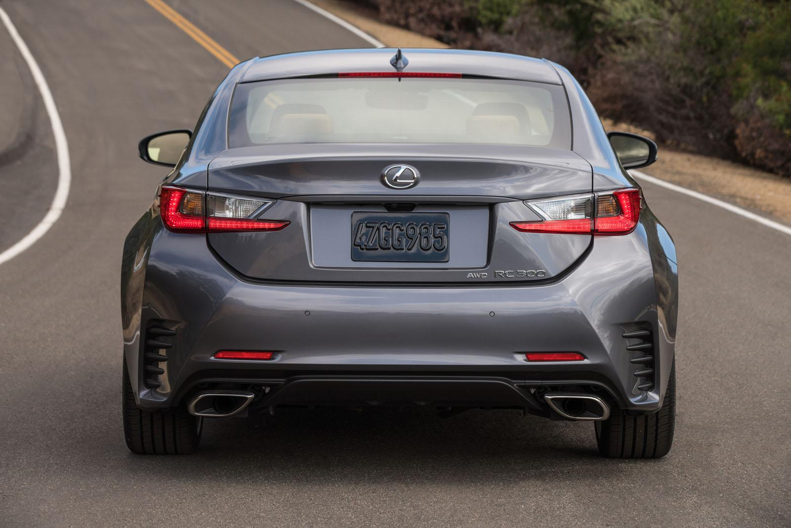 2016 Lexus RC Coupe Revealed, Gets 200t Model with 241 HP ...
