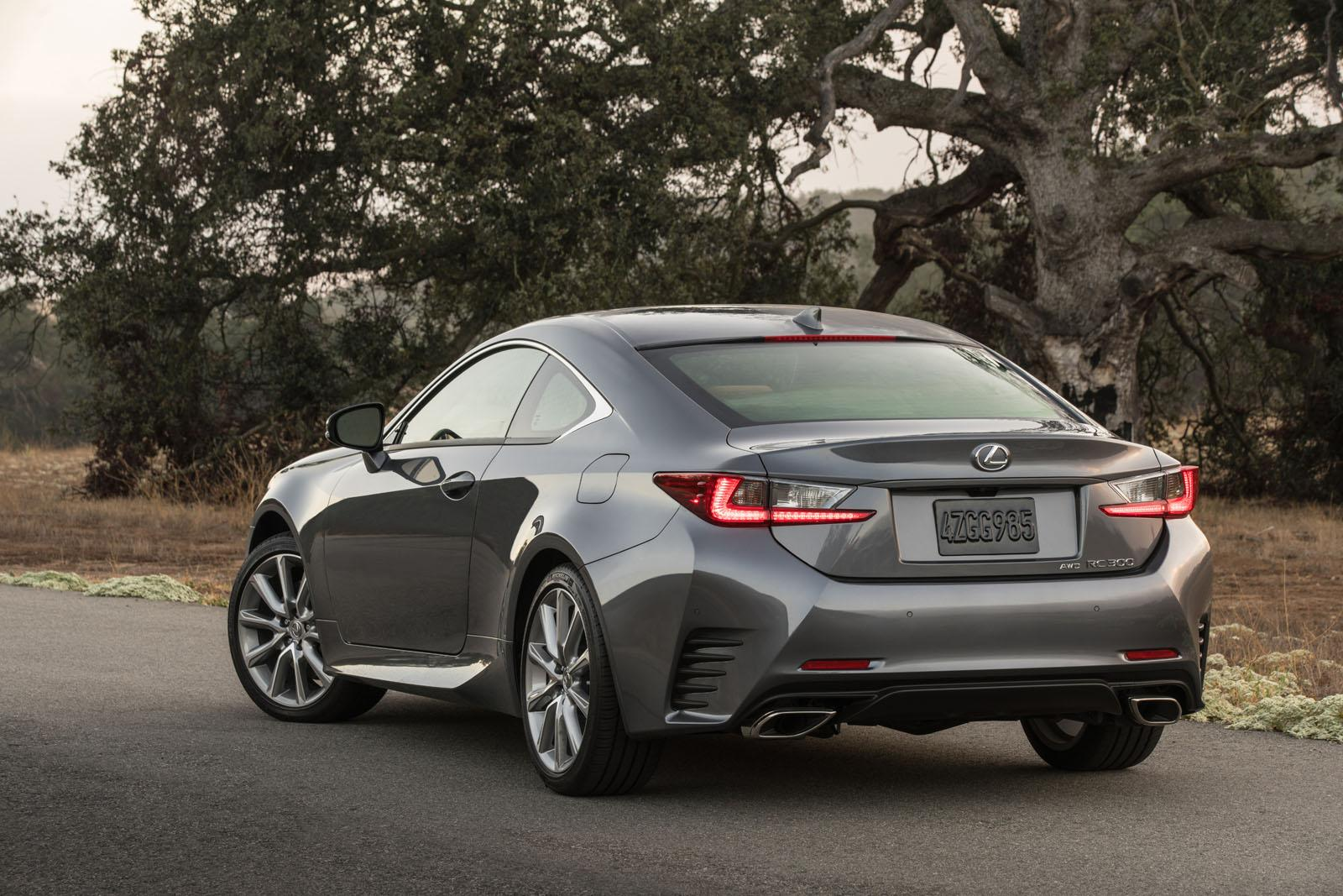 2016 lexus rc coupe revealed gets 200t model with 241 hp 2 liter turbo autoevolution. Black Bedroom Furniture Sets. Home Design Ideas