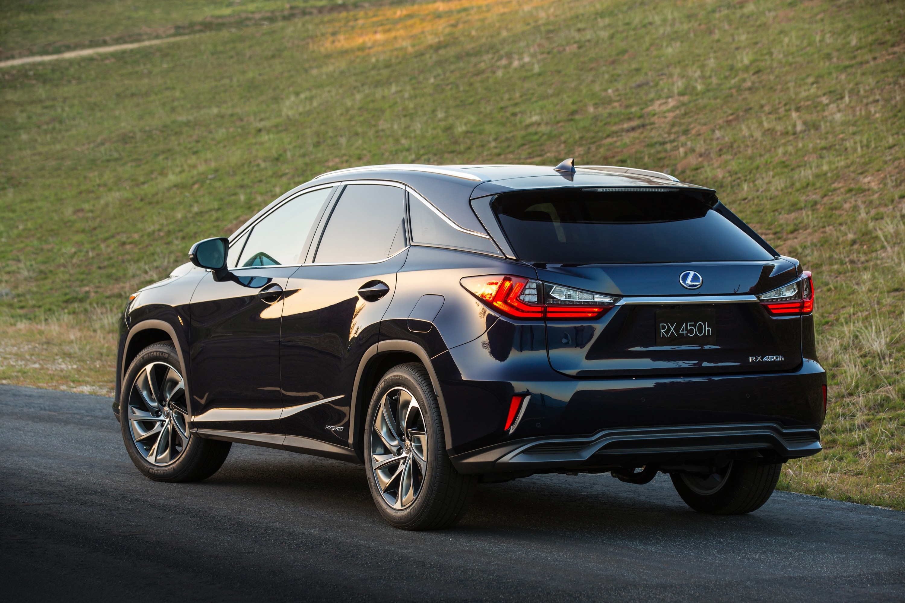 2016 Lexus RX 350 F Sport and RX 450h Show Up in NYC - autoevolution