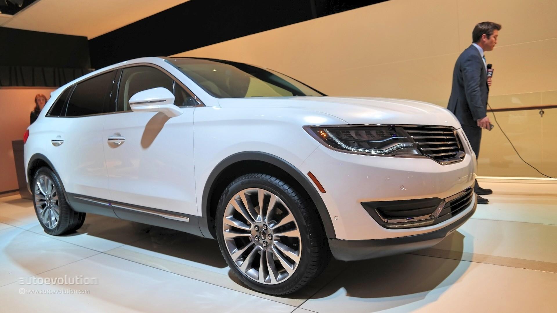 2016 Lincoln MKX Makes World Debut at NAIAS, It's a ...