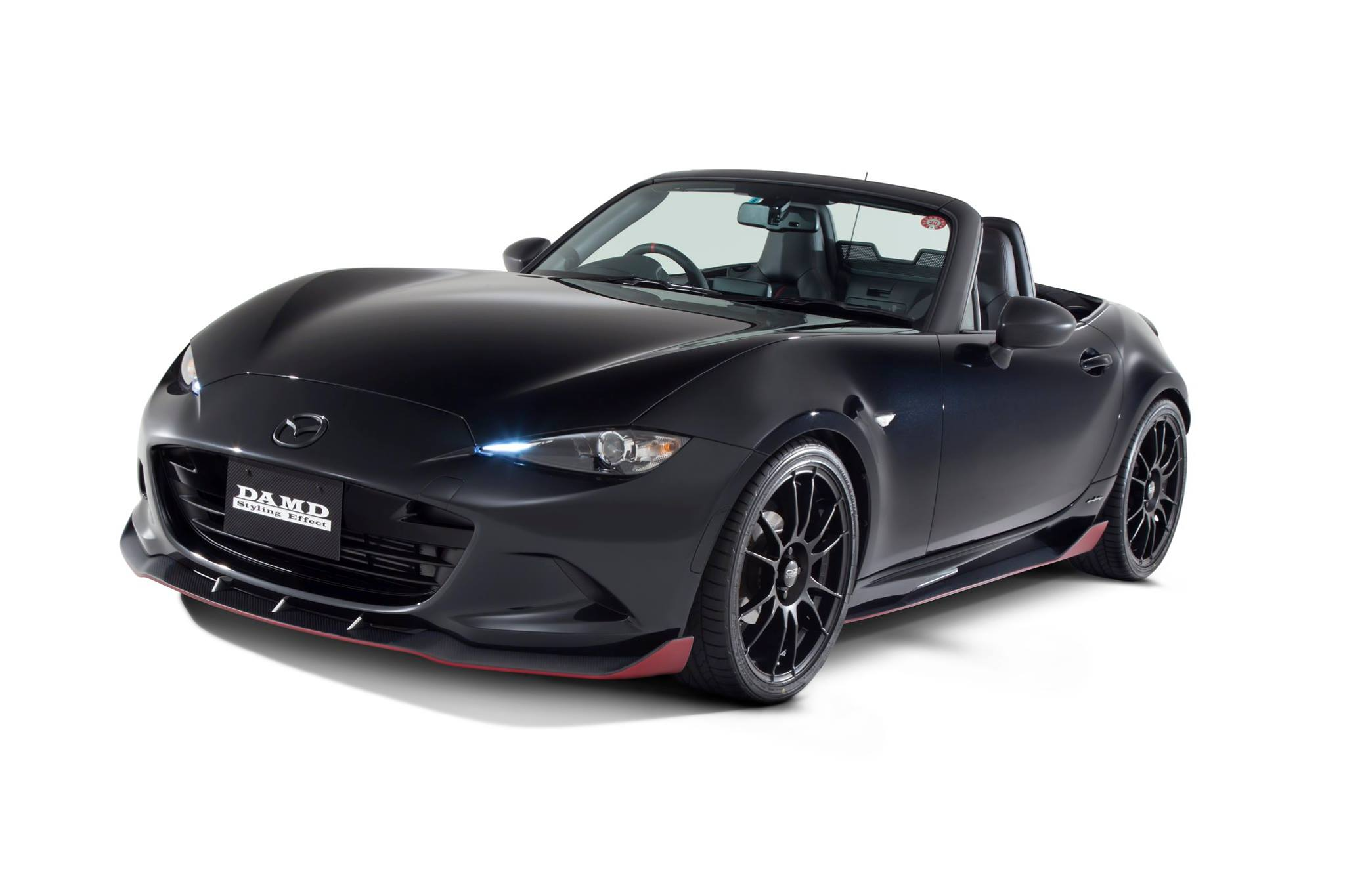 2016 mazda mx 5 roadster dark knight tuned by damd with. Black Bedroom Furniture Sets. Home Design Ideas