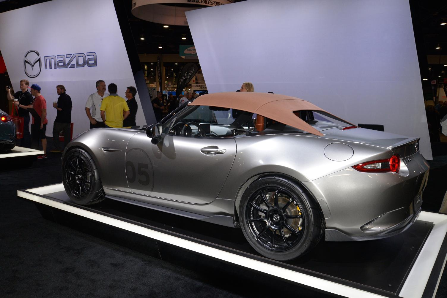 2016 Mazda MX-5 Speedster and Spyder Concepts Stun SEMA - Live ...