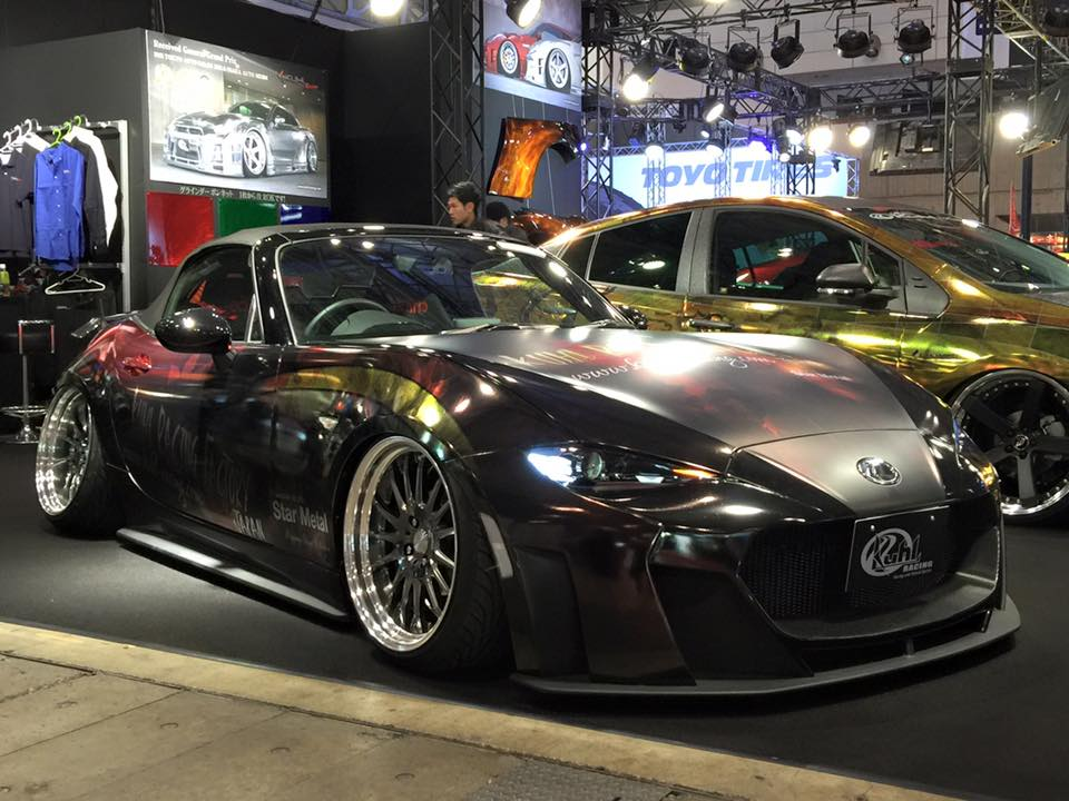 2016 mazda mx 5 tuned by kuhl racing looks riced autoevolution