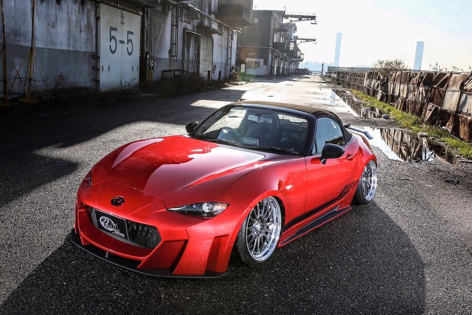 Mazda Mx Tuned By Kuhl Racing Looks Riced on Mazda Miata Battery