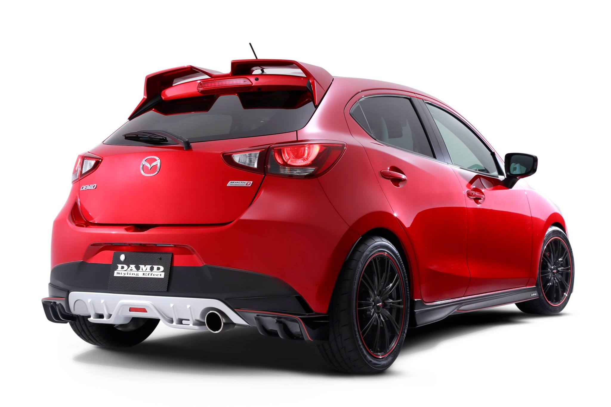 2016 mazda2 and cx 3 get aggressive body kits from damd in japan autoevolution. Black Bedroom Furniture Sets. Home Design Ideas