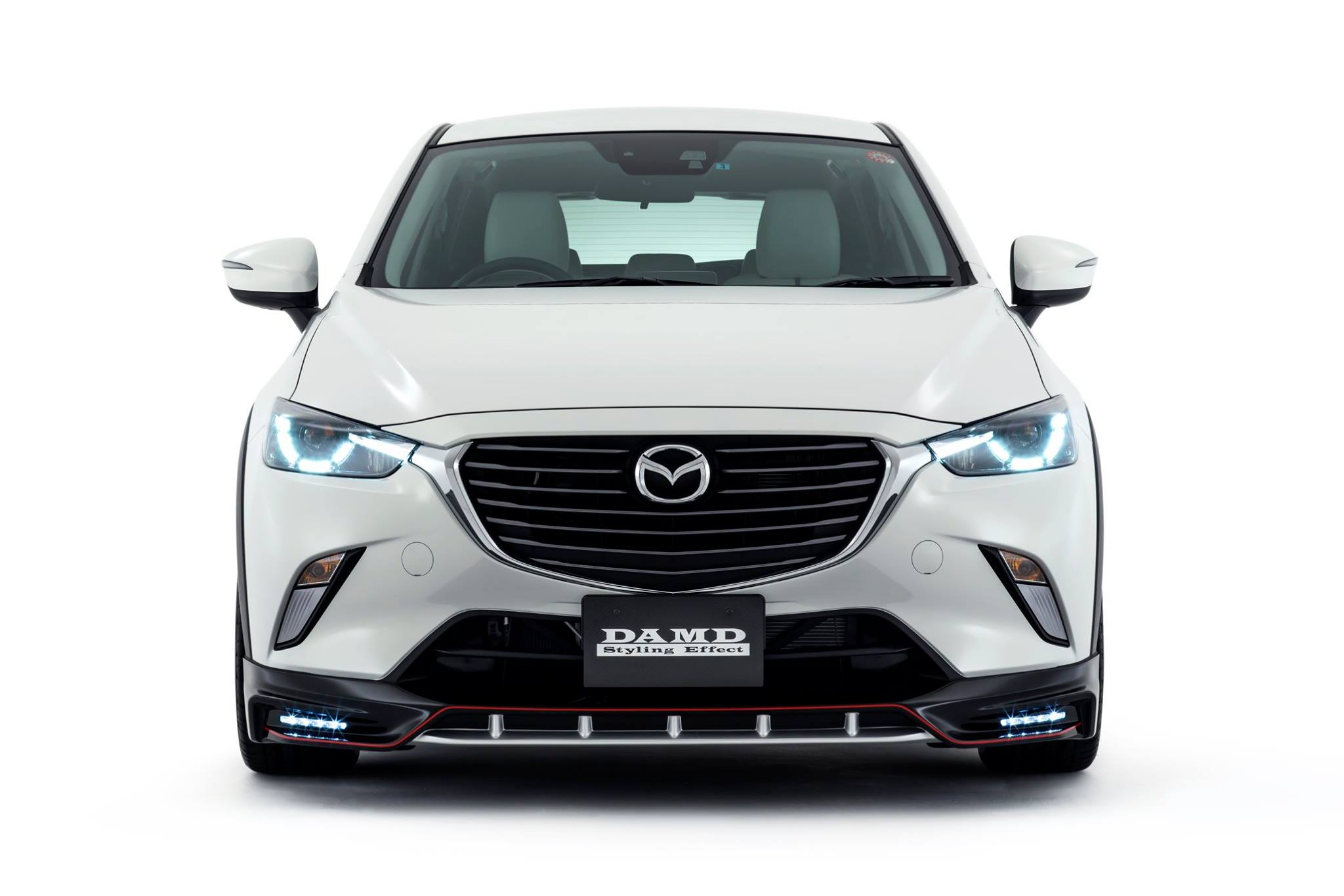 2016 mazda2 and cx 3 get aggressive body kits from damd in. Black Bedroom Furniture Sets. Home Design Ideas