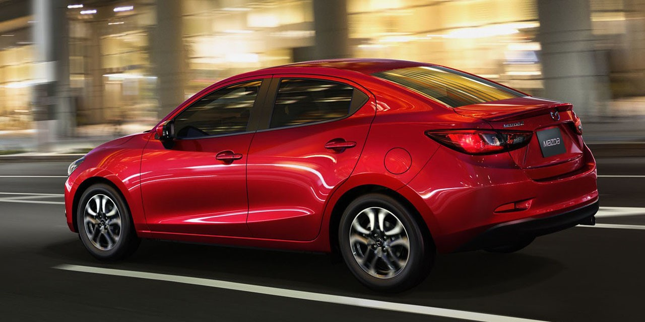 2016 mazda2 fuel economy ratings announced 43 mpg highway. Black Bedroom Furniture Sets. Home Design Ideas