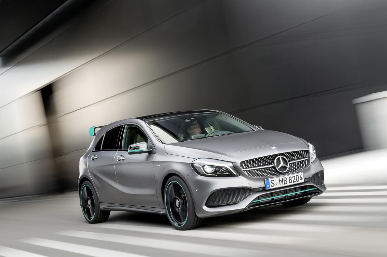 2016 mercedes a class facelift debuts with new 1 6 engine and launch assist autoevolution. Black Bedroom Furniture Sets. Home Design Ideas