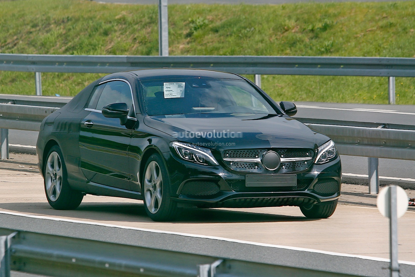 "The Mercedes Benz USA C Class Coupe Spot Is a ""Don t Try This at"
