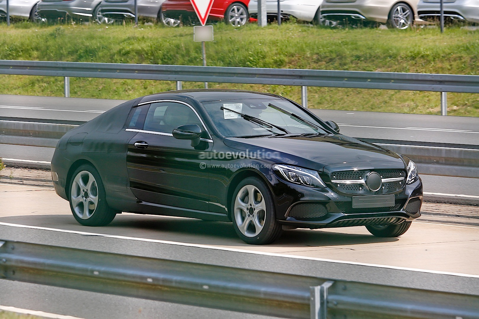 Luxus Mercedes Benz C Coupe 2016