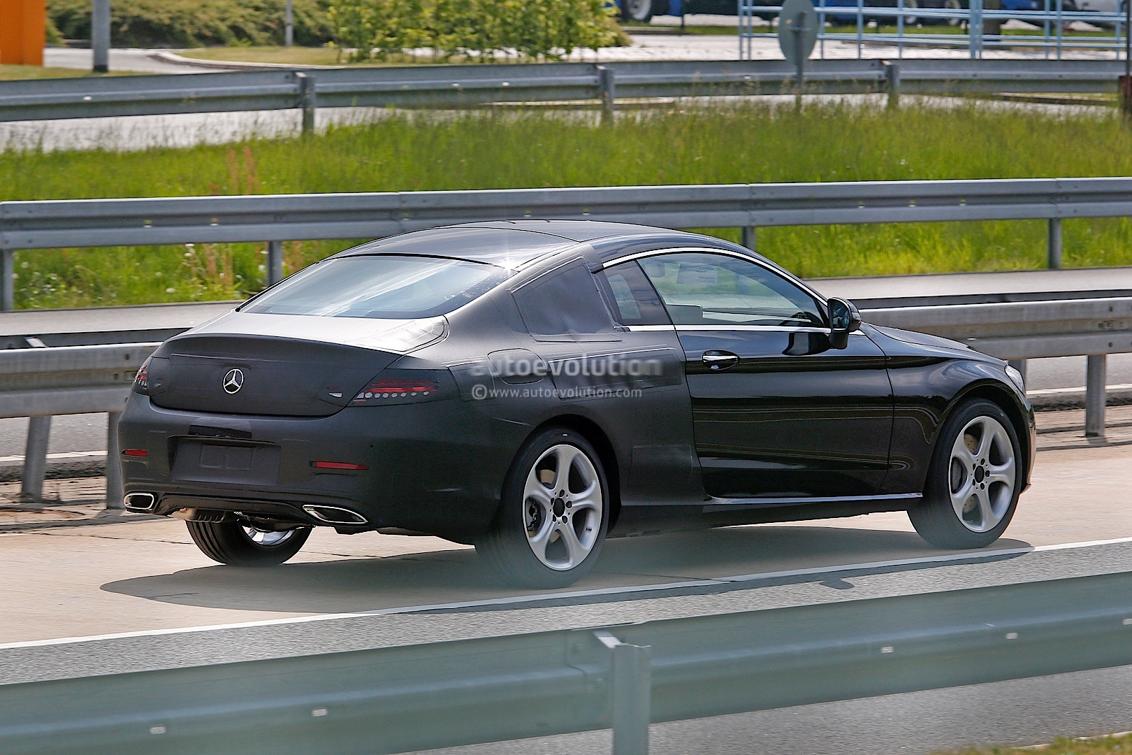 2016 mercedes benz c class coupe c205 spied sporting for Mercedes benz c coupe
