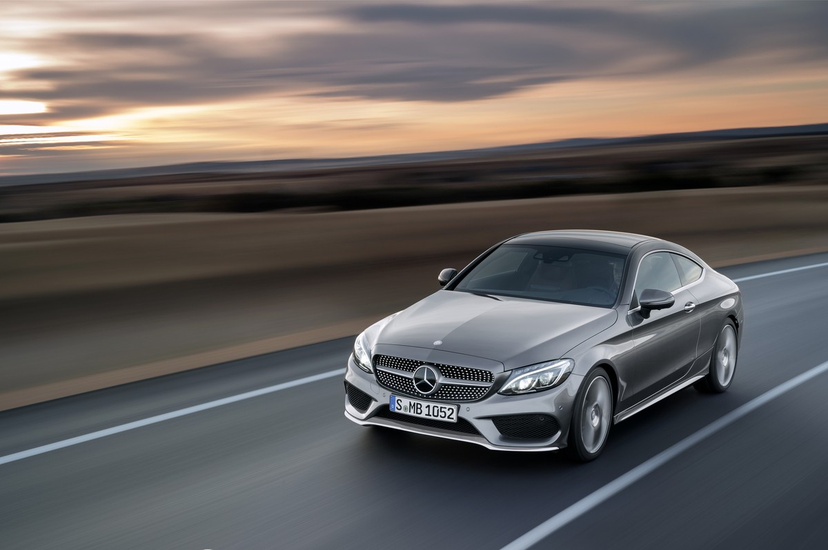 2016 Mercedes-Benz C-Class Coupe Officially Unveiled - autoevolution
