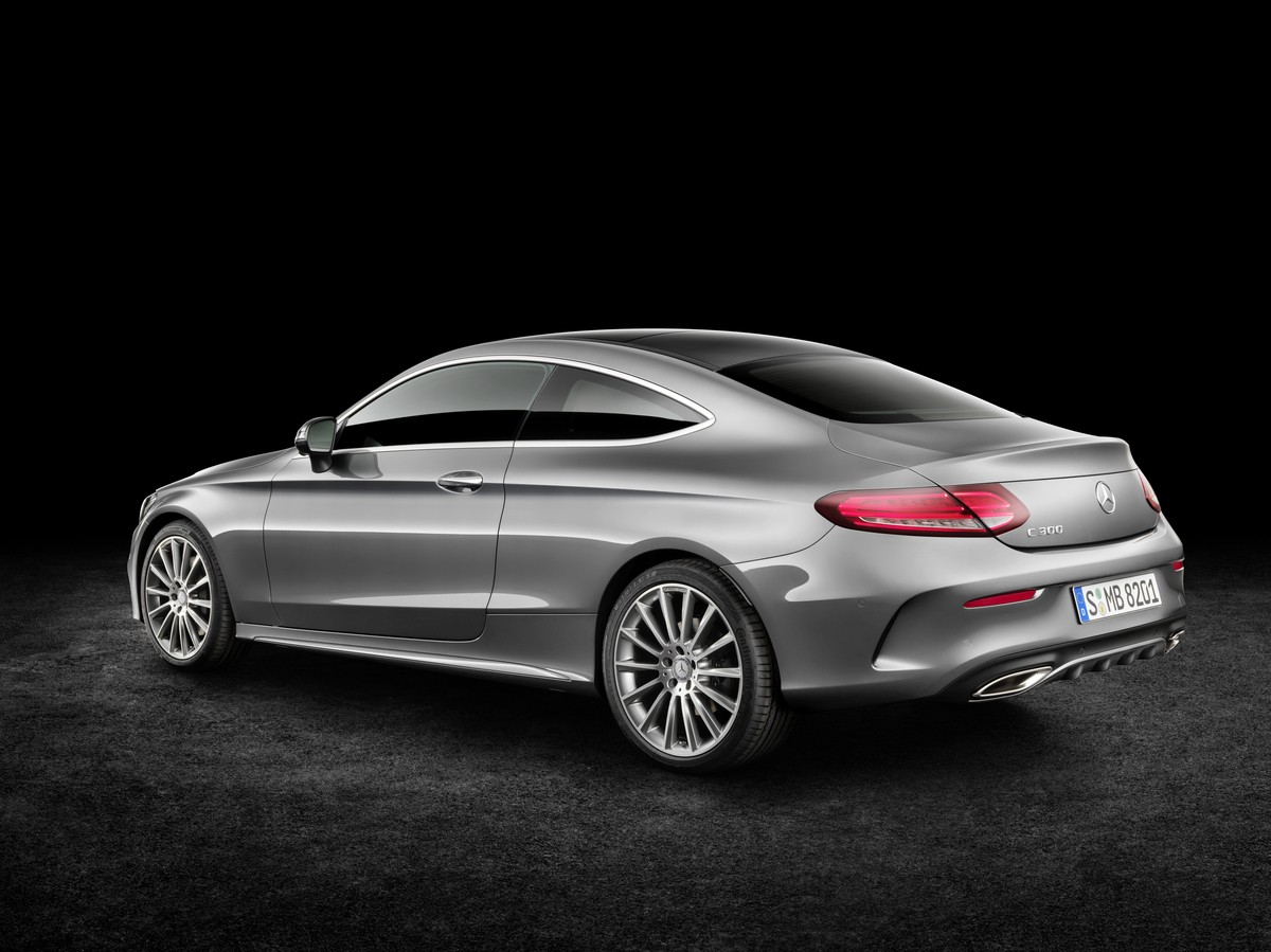 2016 MercedesBenz CClass Coupe Officially Unveiled  autoevolution