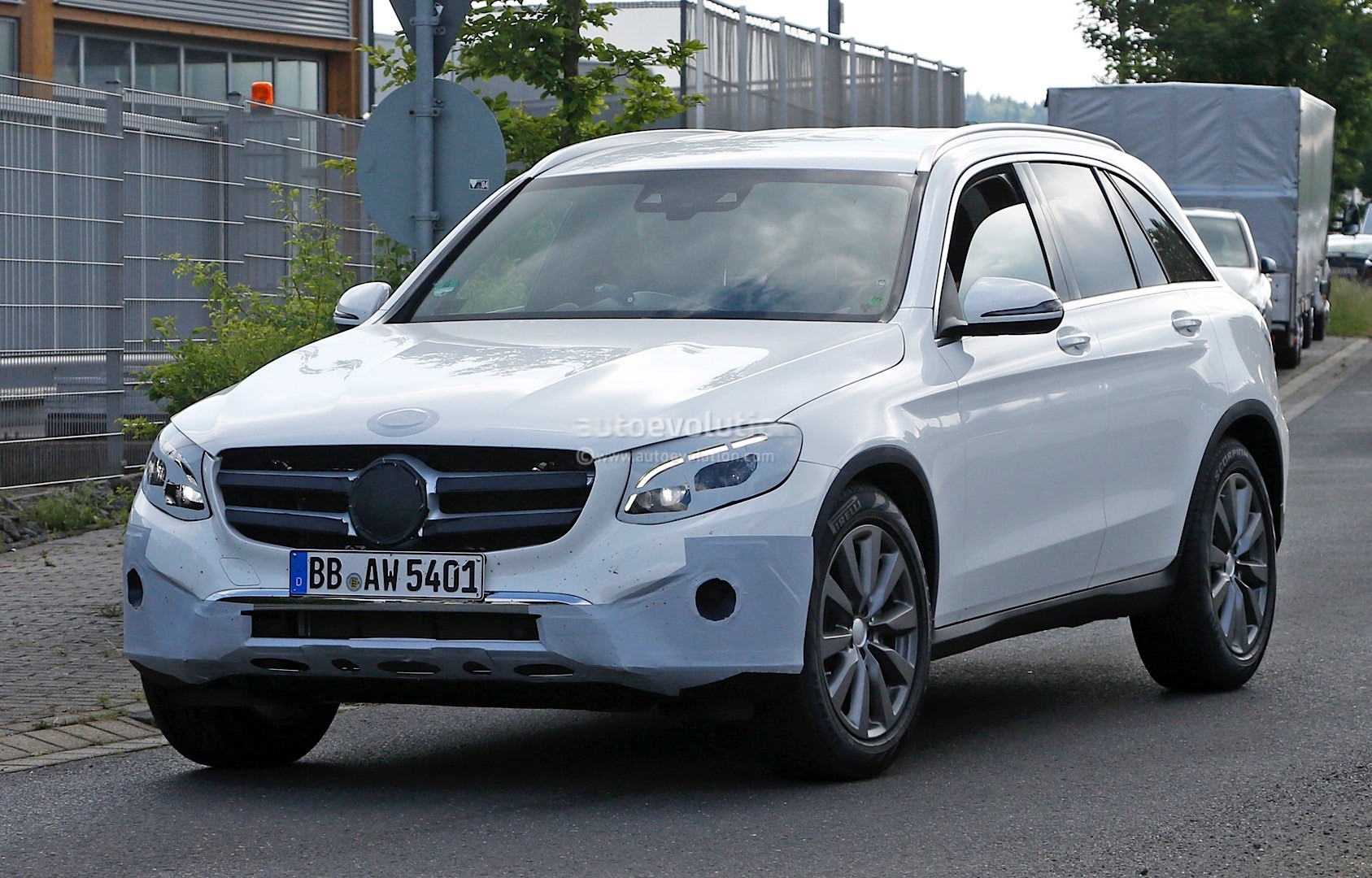 2016 mercedes benz glc spied completely exposed official for 2014 mercedes benz glc