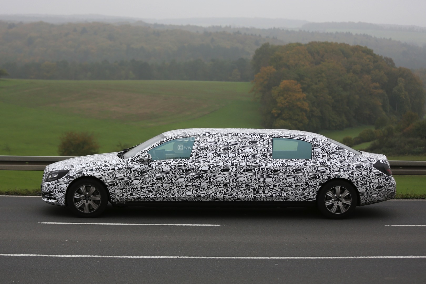 Ford Focus Rims >> 2016 Mercedes-Benz S 600 Pullman Spied Getting Closer to Production - autoevolution