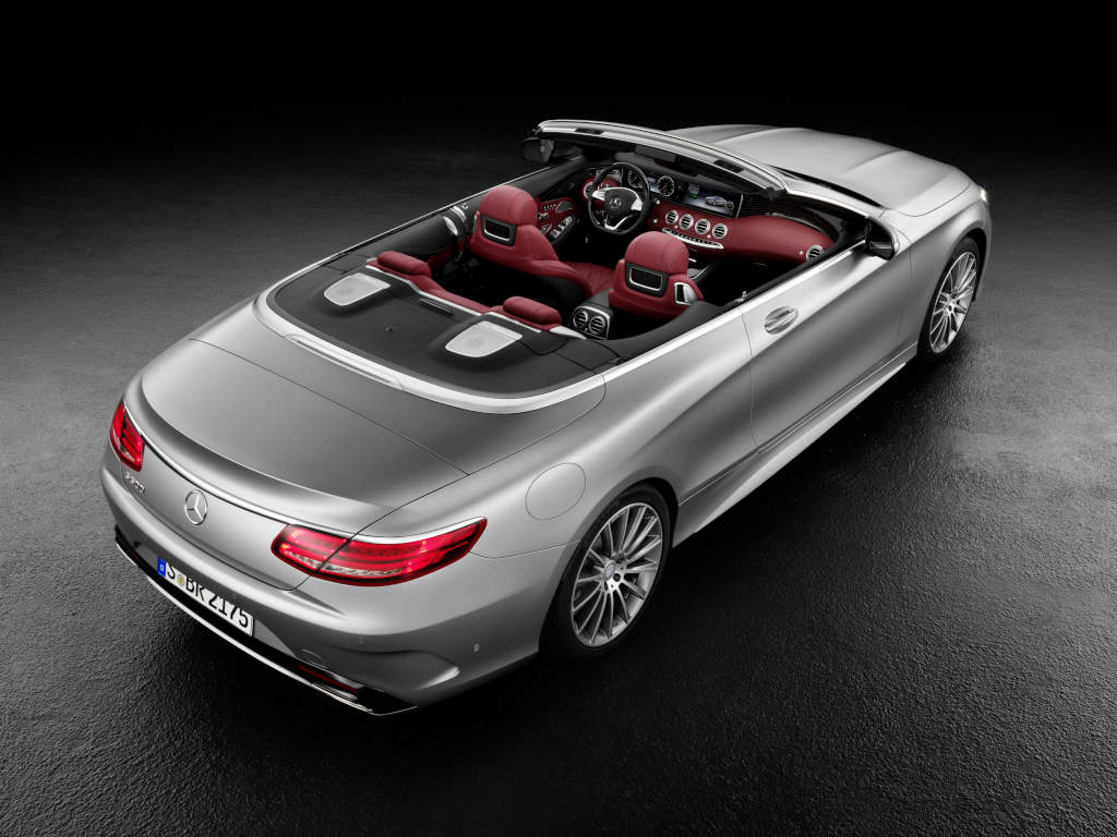 2016 mercedes benz s500 and s63 cabriolet have us rooting for Drop top mercedes benz prices