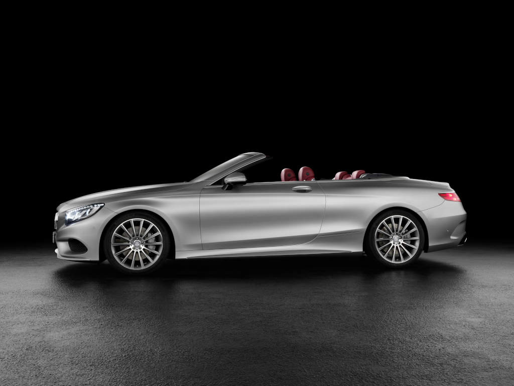 2016 mercedes benz s class cabriolet now available at slightly higher prices than the coupe. Black Bedroom Furniture Sets. Home Design Ideas