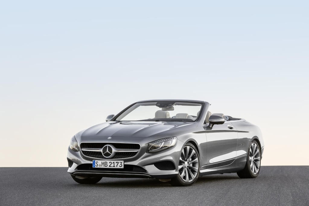 2016 mercedes benz s class cabriolet now available at for Average cost of a mercedes benz