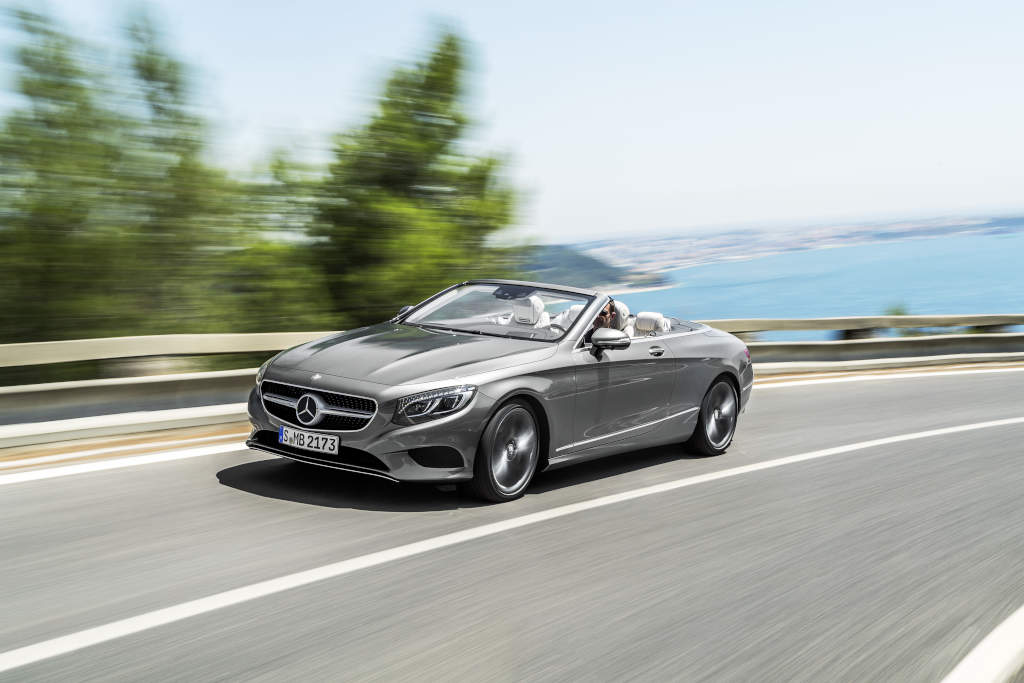 2016 mercedes benz s class cabriolet now available at for Average price of mercedes benz