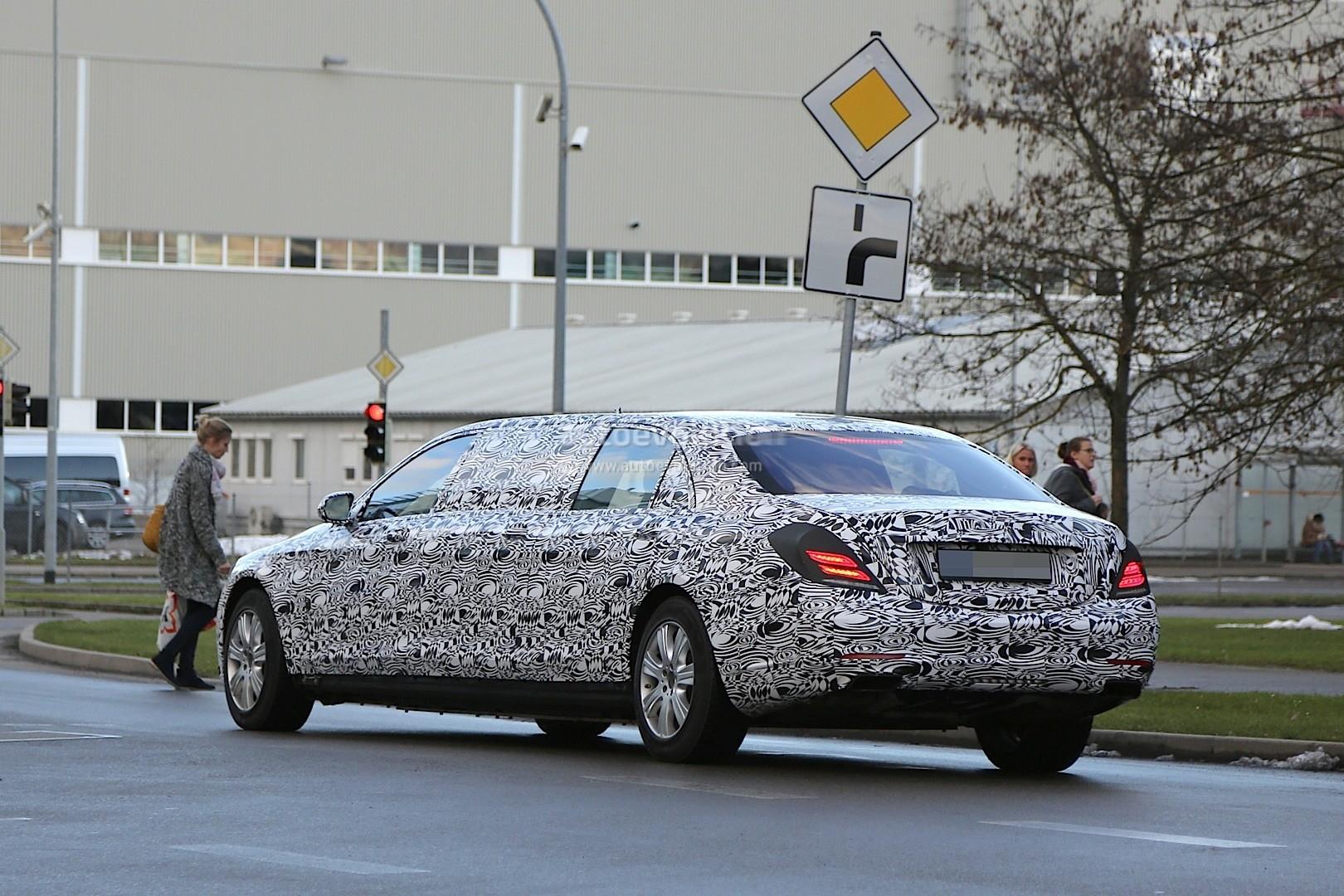 MercedesBenz S Pullman Interior Spyshots Show Armour - 1 million mercedes coolest armoured vehicle ever
