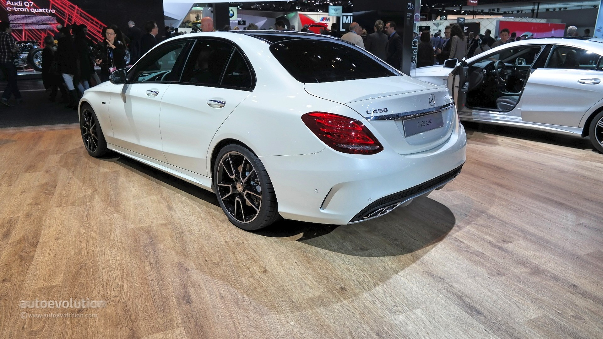 2016 mercedes c450 amg 4matic sedan finally arrives in the for Mercedes benz c450 amg