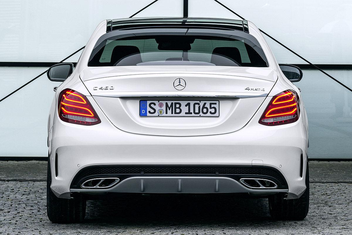2016 Mercedes C450 Amg 4matic Sedan Finally Arrives In The