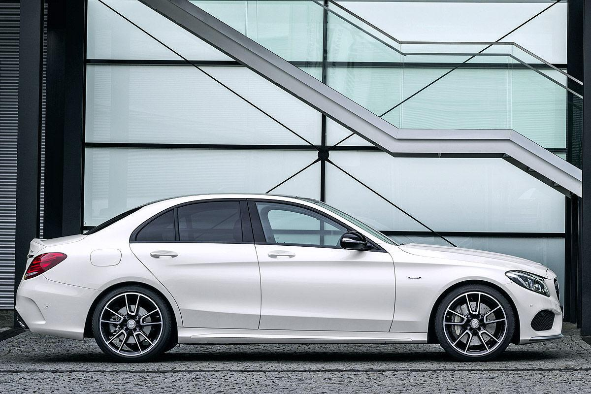 2016 mercedes c450 amg 4matic sedan finally arrives in the for Mercedes a klasse amg interieur