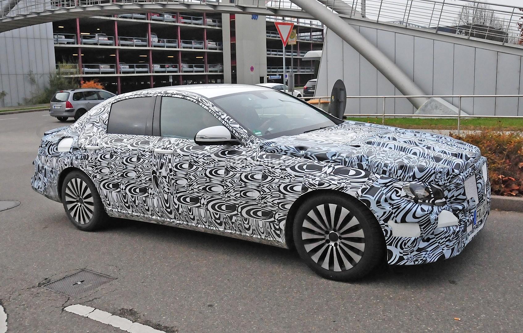 2016 Mercedes E Class W213 First Interior Spy Photos S
