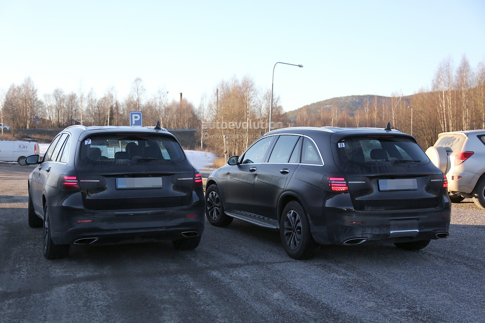 2016 mercedes glc spy photos show nearly undisguised pre production prototypes autoevolution - 2016 Mercedes Glc
