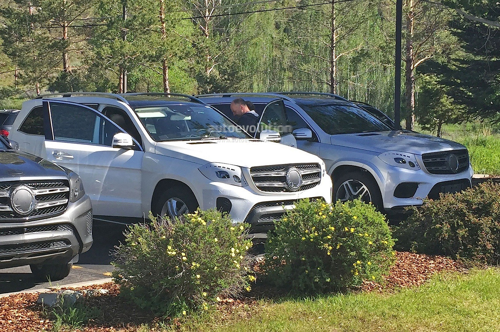 2016 Mercedes Gls And Amg Sport Spied Nearly Undisguised