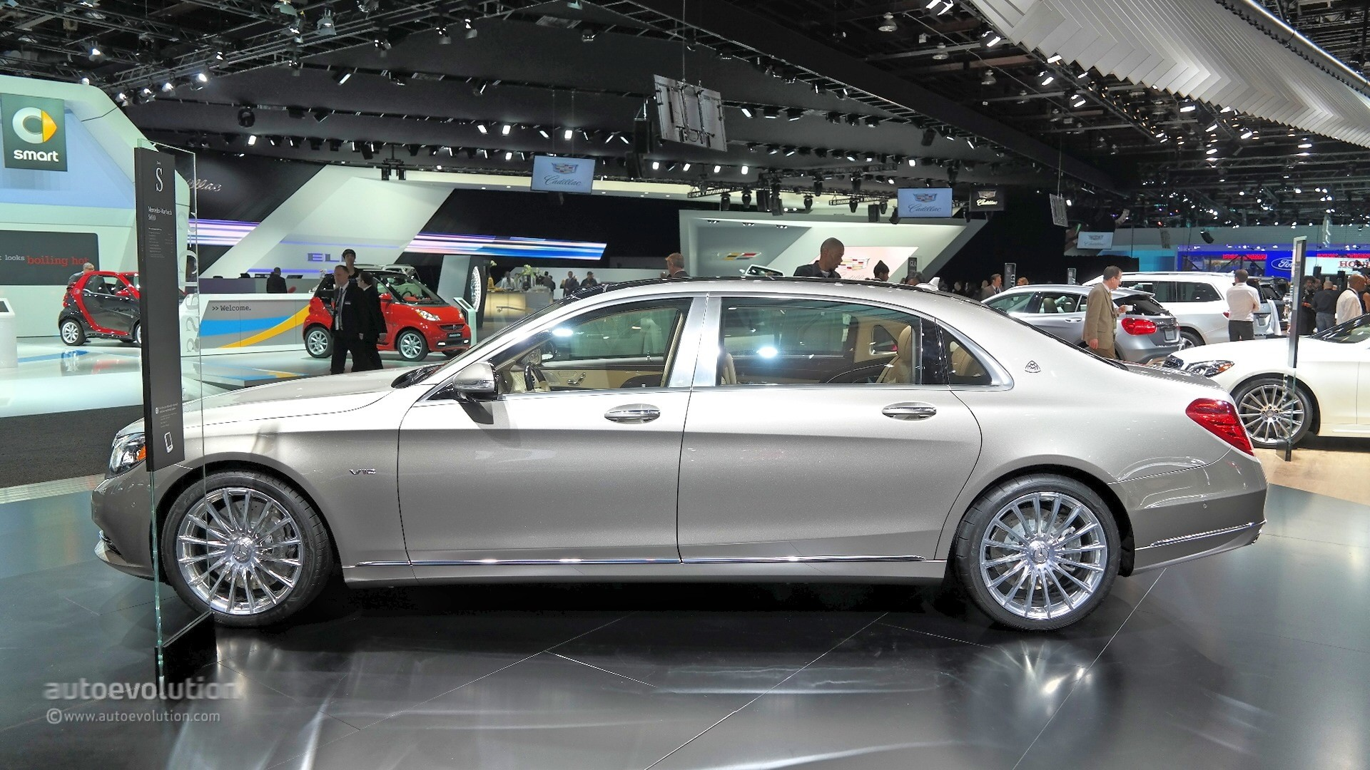 2016 mercedes maybach s600 the wolf of wall street in detroit live photos   autoevolution