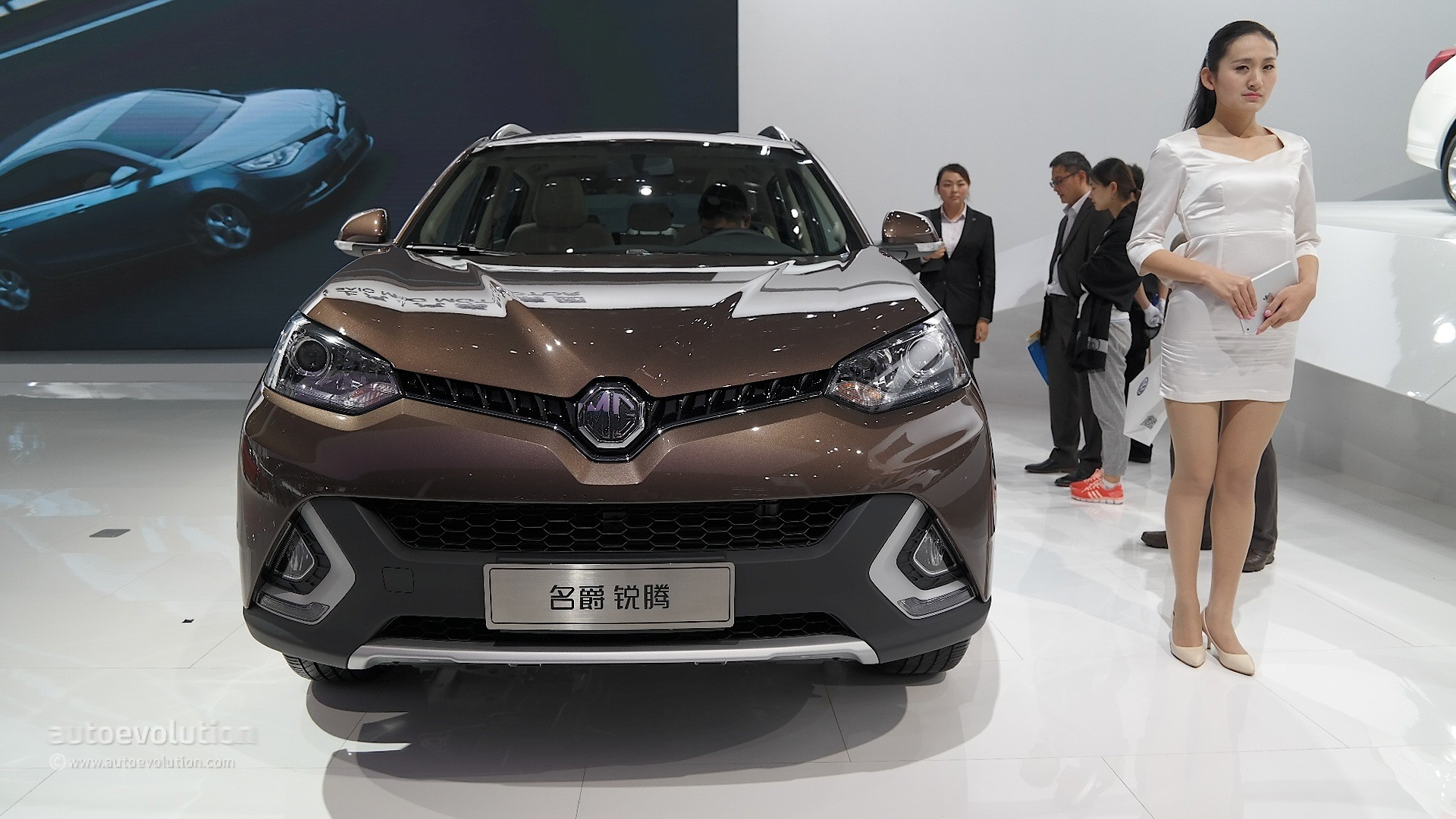 2016 mg gs debuts at london motor show  it u2019s identical to the chinese model