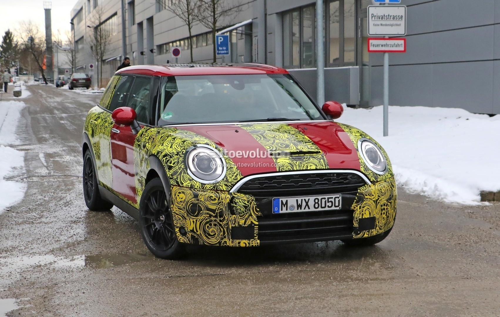 2016 Mini Clubman Cooper S Spied Wearing Production Lights