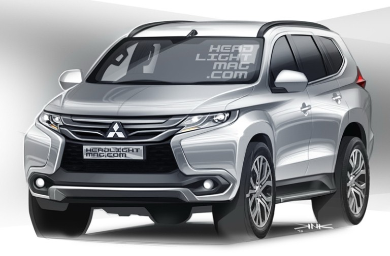 2016 Mitsubishi Pajero Sport Masterfully Rendered - autoevolution