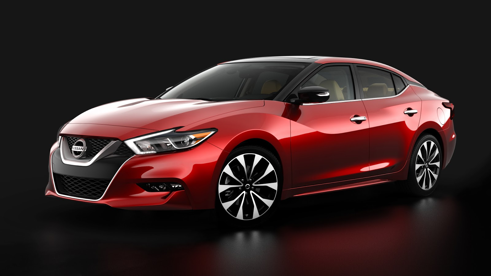 2016 nissan maxima first photos released ahead of new york. Black Bedroom Furniture Sets. Home Design Ideas